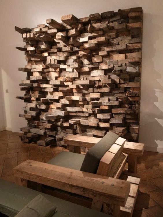 Dřevěné obklady, které voní exotikou a dálkami